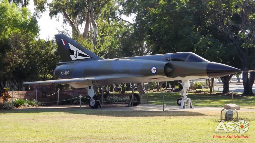 Mirage IIIO A3-100 75 Squadron -Darwin