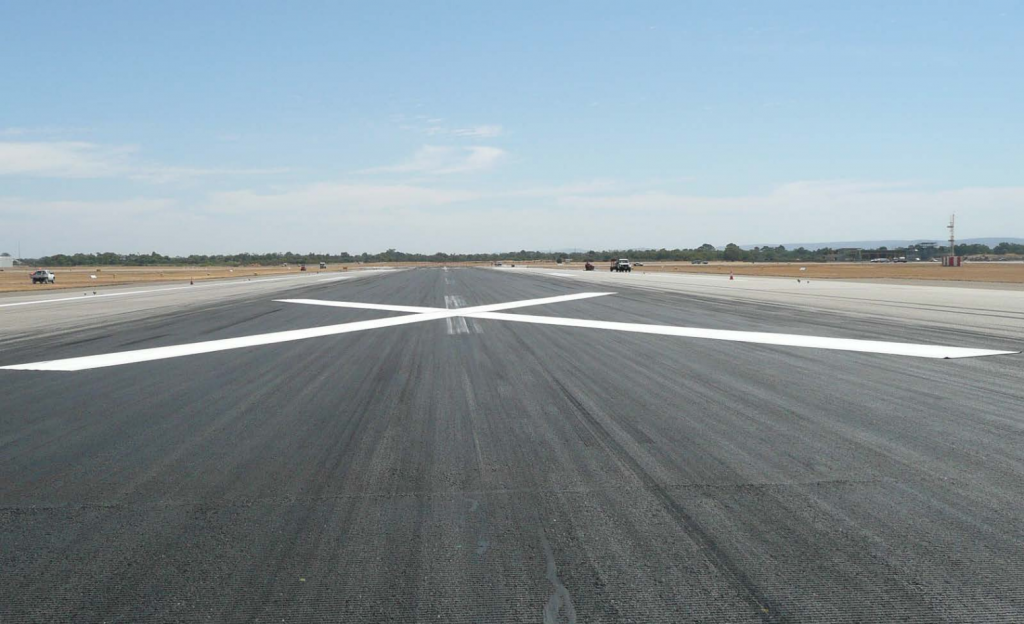 36M cross - Perth Airport