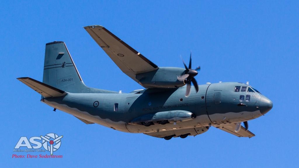 A34-001 RAAF C-27J