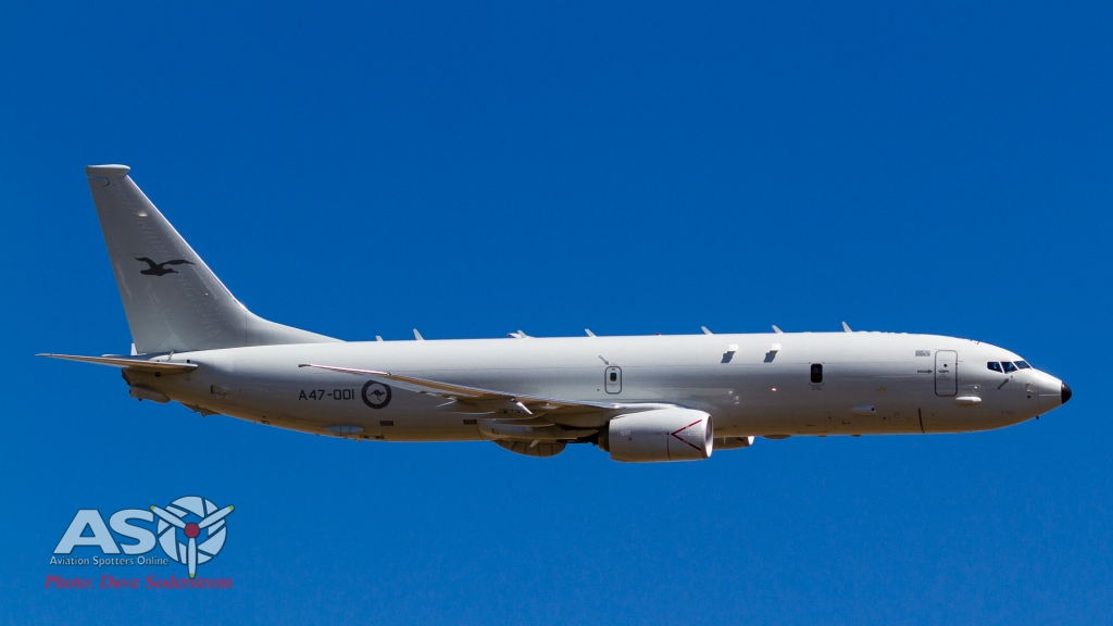 A47-001 RAAF P-8 Posiden ASO (1 of 1)