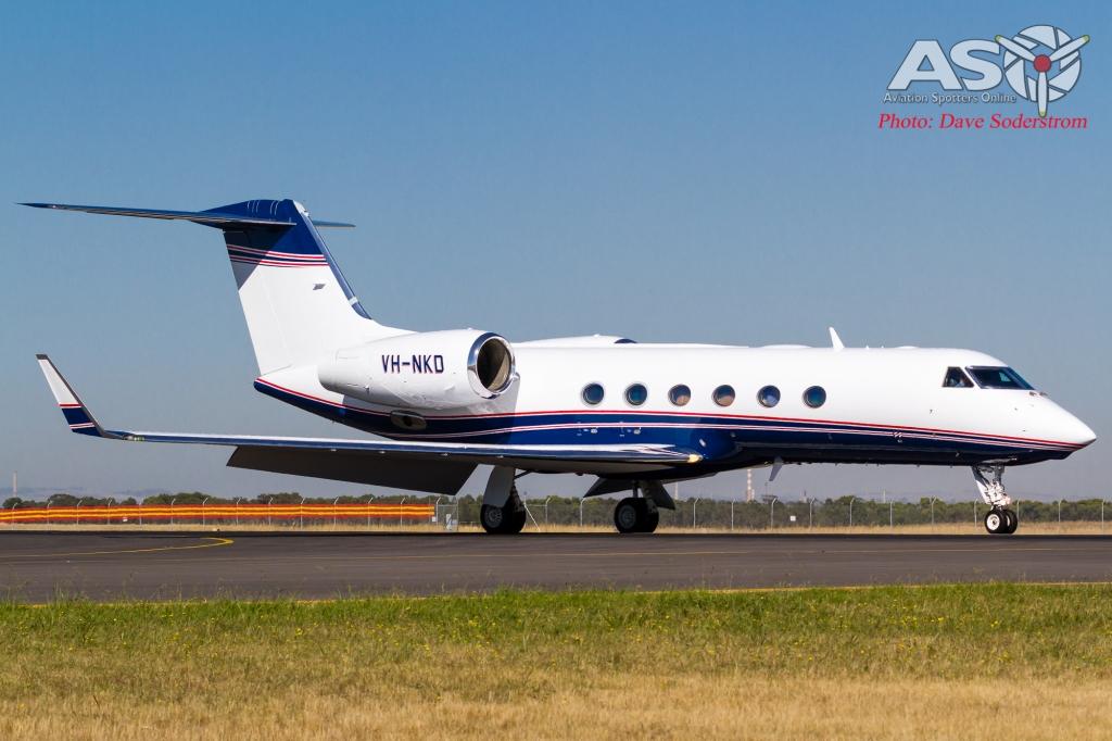 VH-NKD CML Aviation Gulfstream G-IVX (1 of 1)
