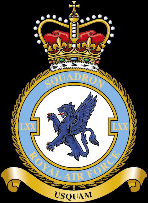 RAF 70 Squadron Badge