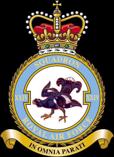 RAF 24 Squadron Badge