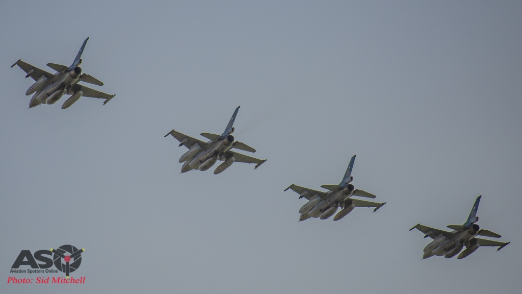 TNIAU F-16's