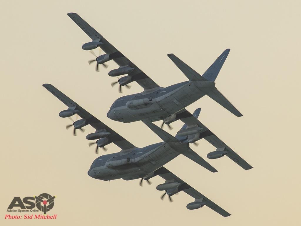 Two USMC KC-130J