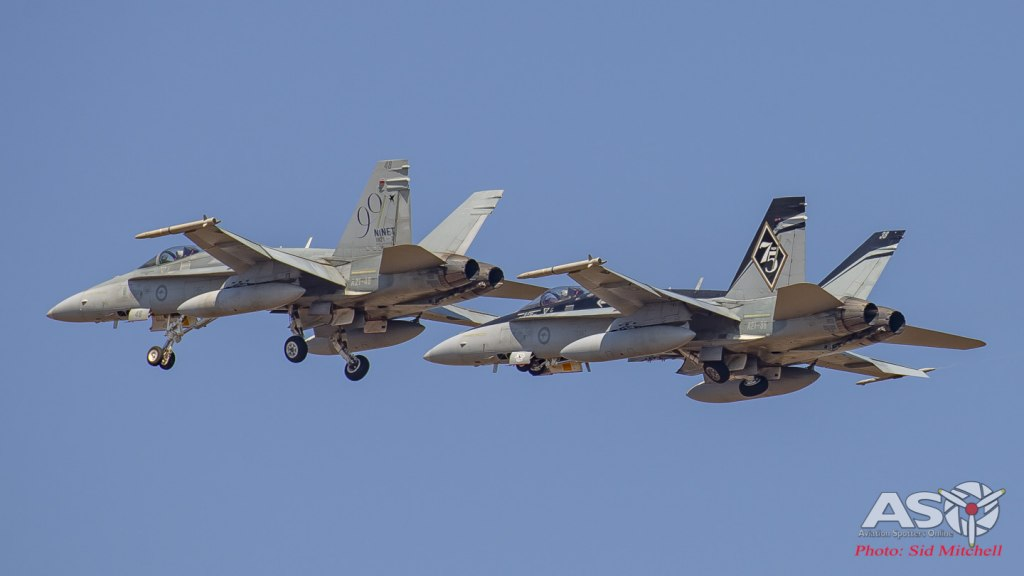 RAAF F/A-18A Hornets
