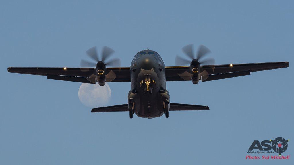 RAAF Alenia C-27J Spartan