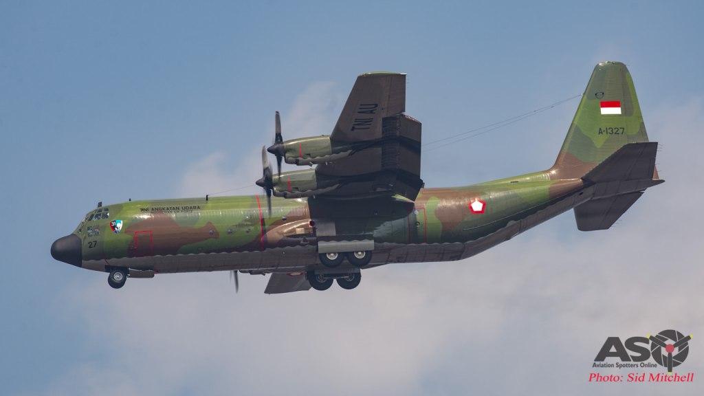 TNI-AU Lockheed C-130H