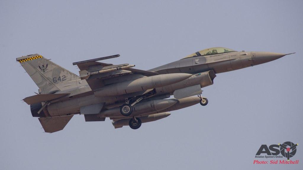 RSAF General Dynamics F-16C