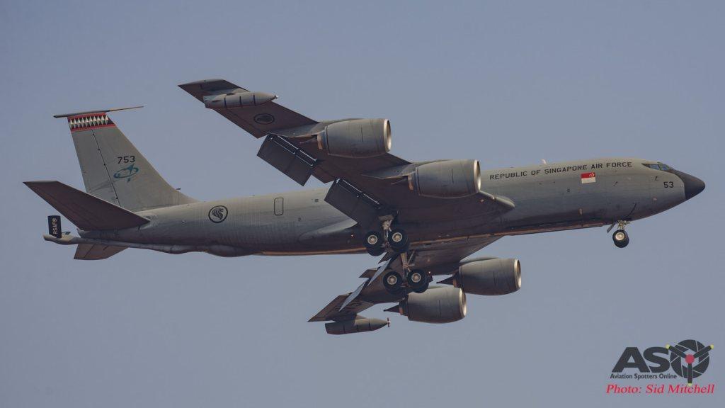 RSAF Boeing KC-135R Stratotanker