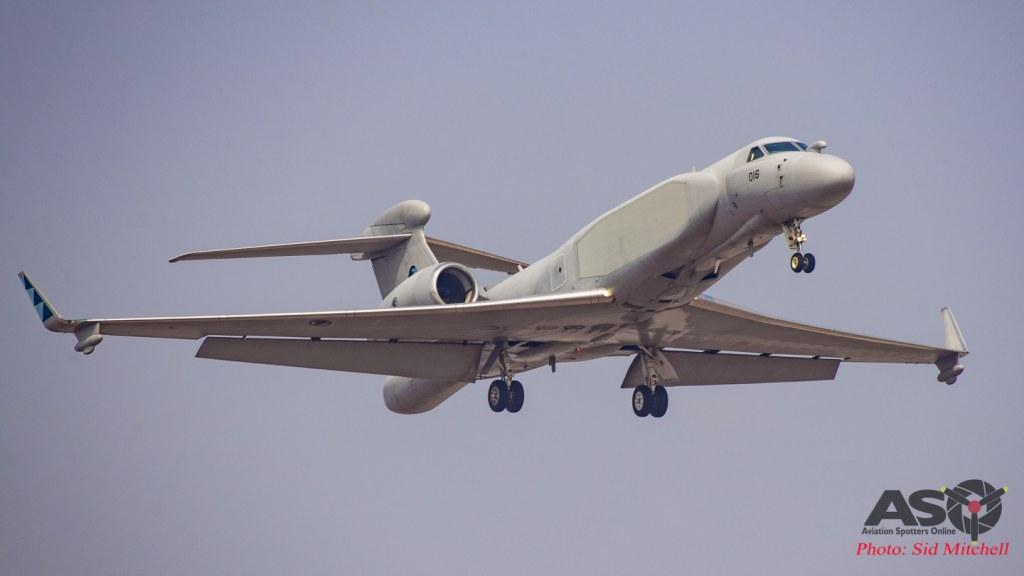 RSAF G550 Gulfstream EA&WC