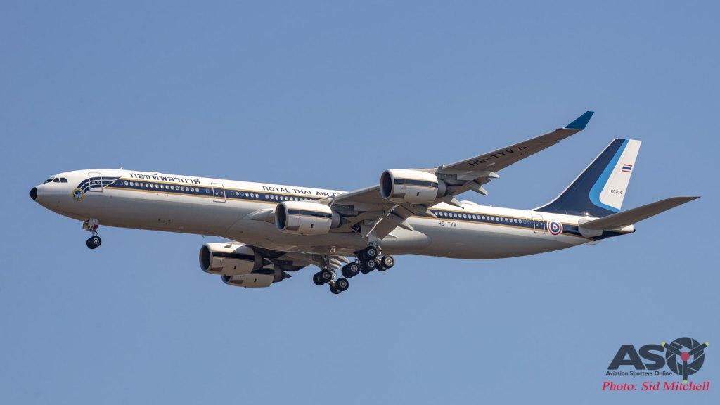 RTAF Airbus A340-500