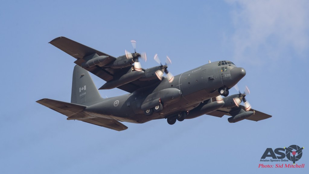 RCAF Lockheed CC-130HT