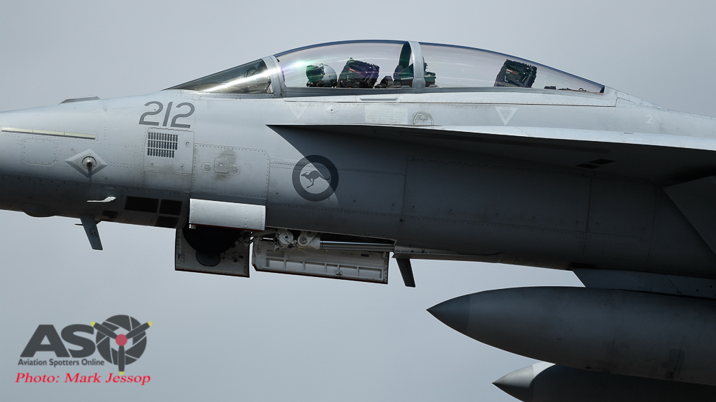 RAAF F/A-18F Super Hornet A44-212 1Squadron