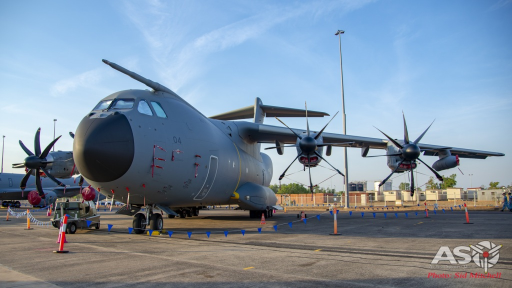 RMAF (TUDM) A400M Atlas M54-04