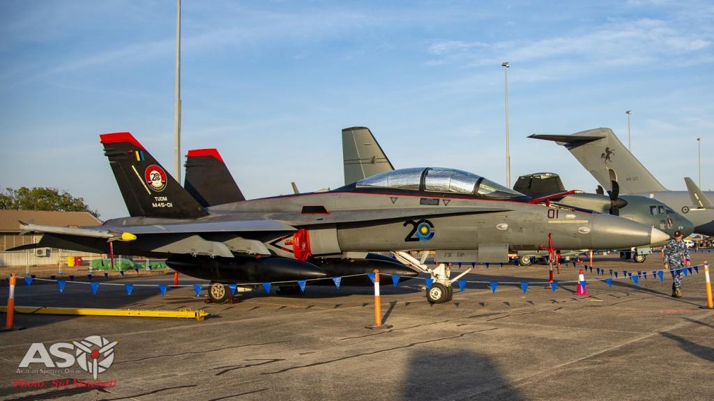TUDM F/A-18D Hornet