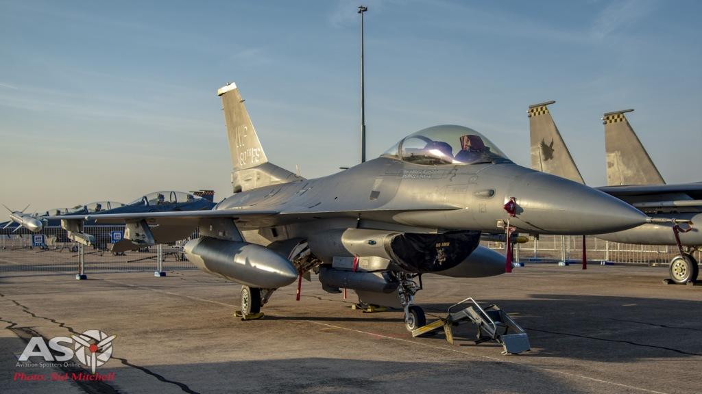USAF F-16C Falcon