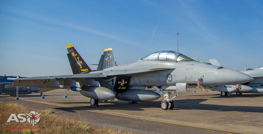 RAAF F/A-18F Super Hornet