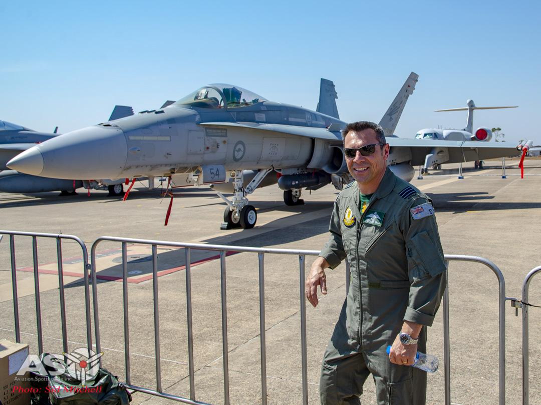 RAAF Classic an CO 77 Sqn