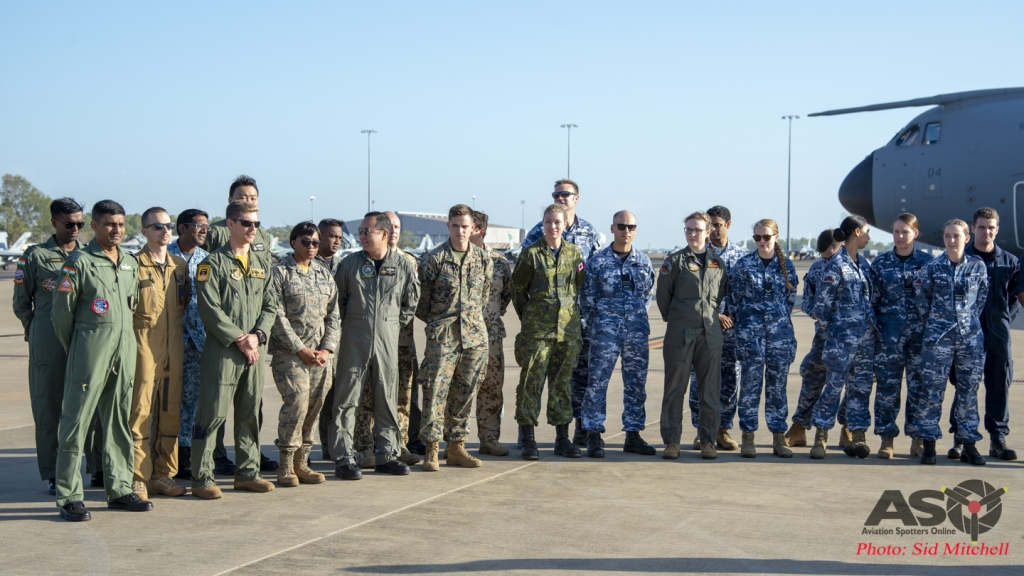 Wrap up RAAF Base Darwin