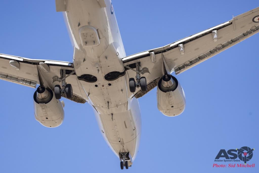 RAAF E-7A Wedgetail - RAAF Tindal