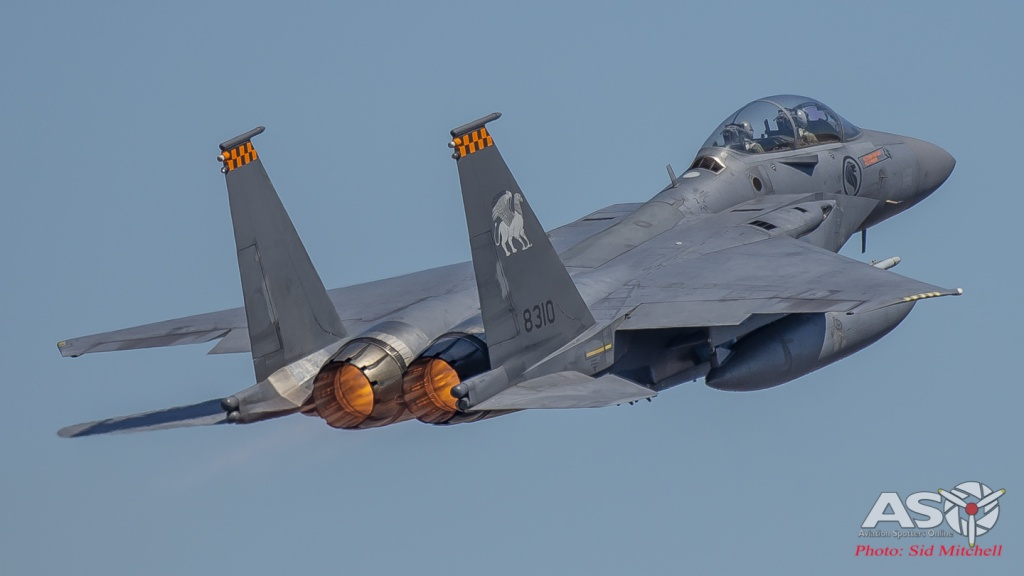 Republic of Singapore Air Force F-15SG Strike Eagle