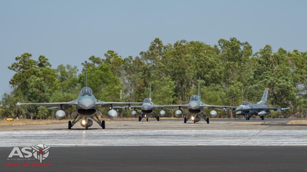 TNI-AU F-16C Falcons