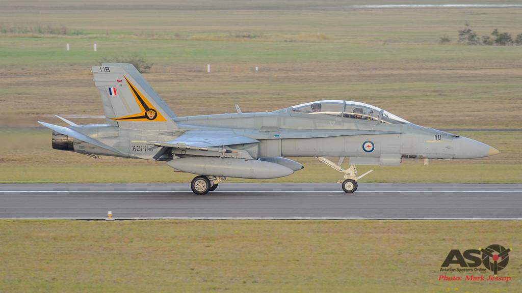 F/A-18B Hornet A21-118 2OCU