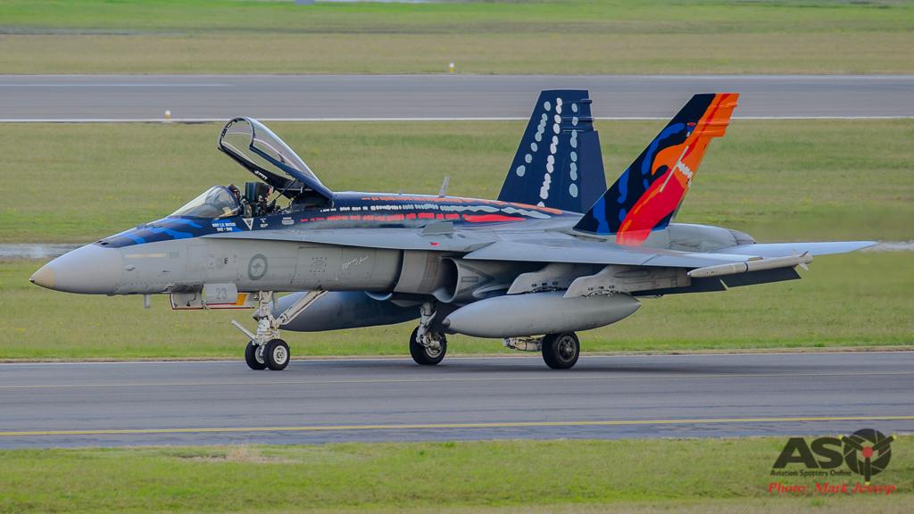 F/A-18A Hornet A21-23 Worimi scheme