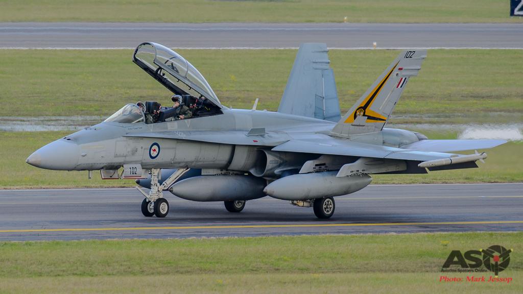 F/A-18B Hornet A21-102 2OCU