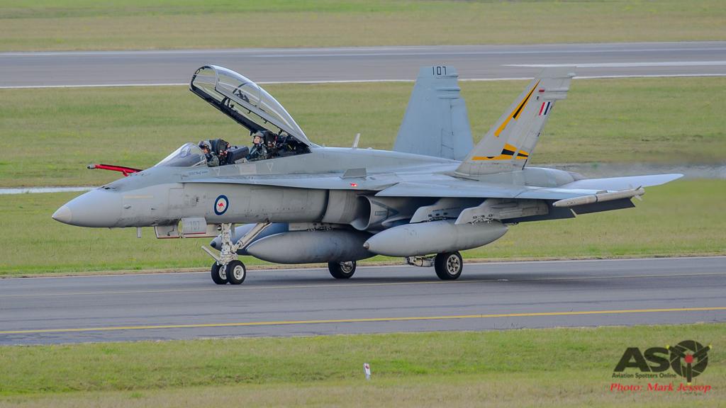 F/A-18B Hornet A21-107 2OCU
