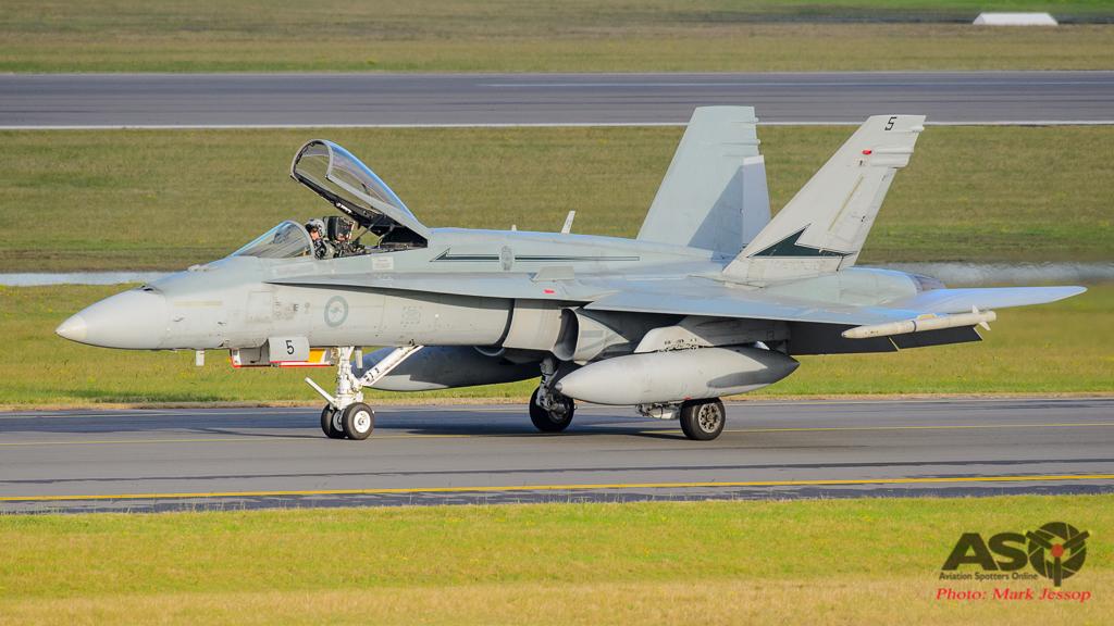 F/A-18A Hornet A21-7 77SQN