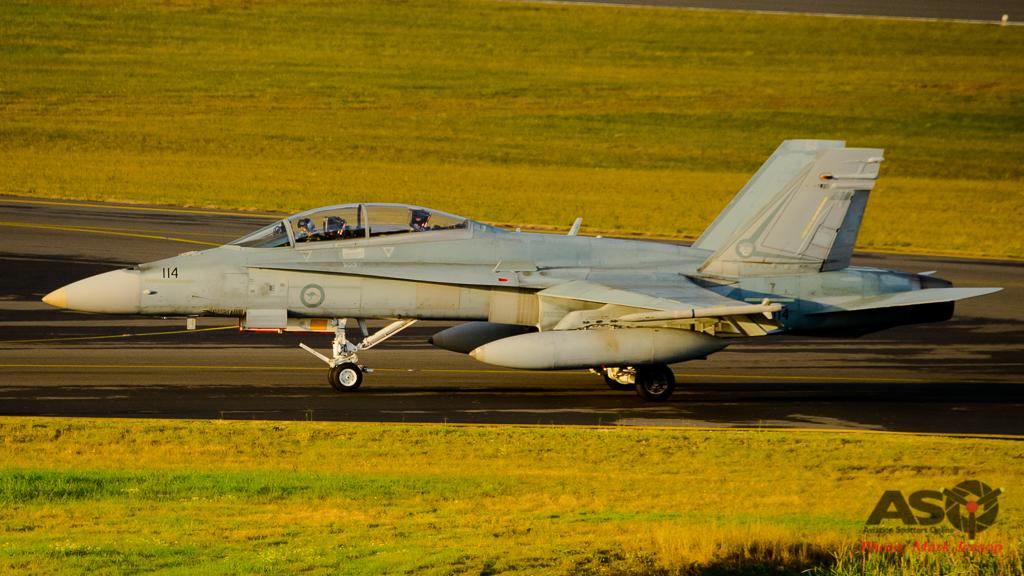 F/A-18B Hornet A21-114 2OCU
