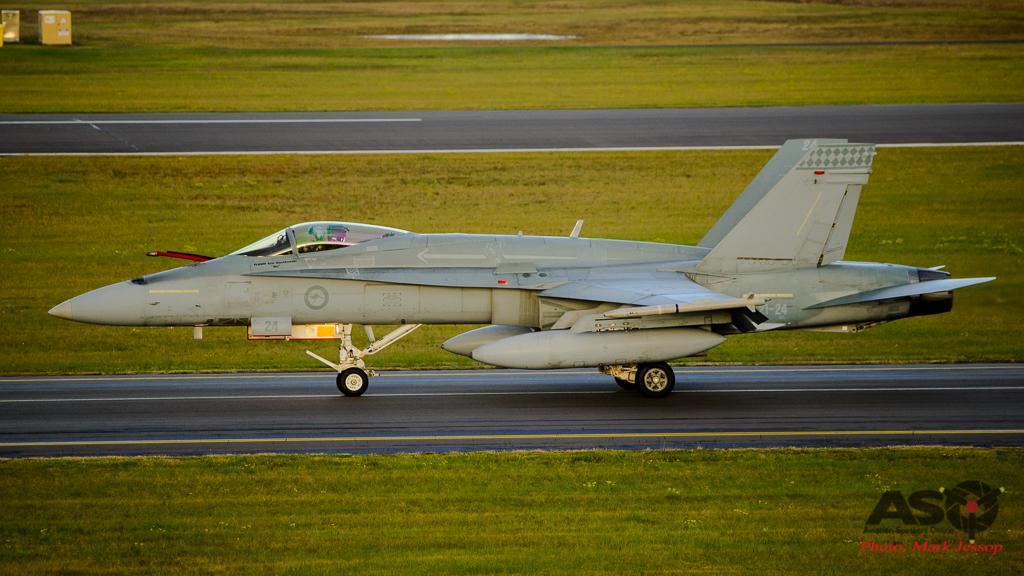 F/A-18A Hornet A21-24 75SQN