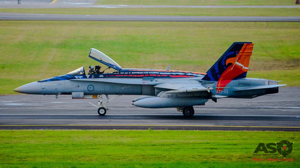 F/A-18A A21-23 Worimi scheme