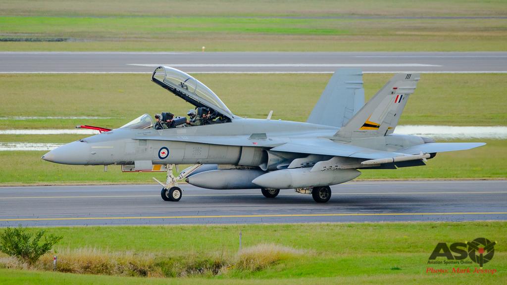 F/A-18B Hornet A21-111 2OCU