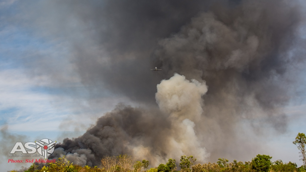 Fire in the ILS RWY29 Darwin