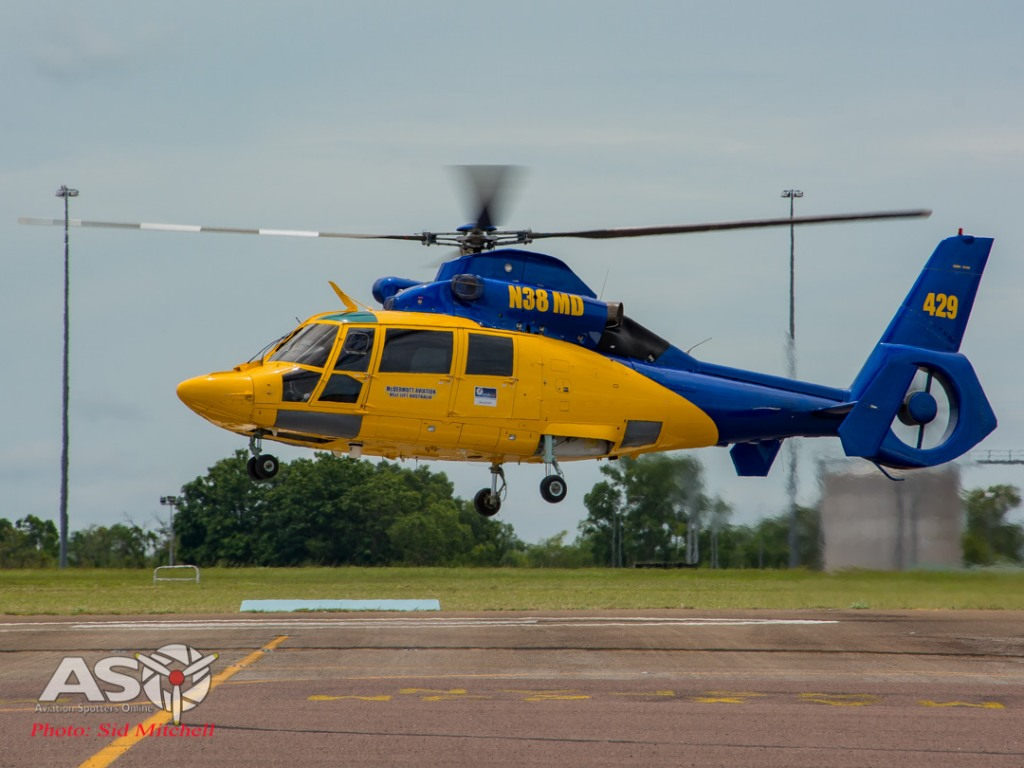 Mc Dermott Aviation/Helilift Eurocopter AS365 N3 Dauphin, N38MD