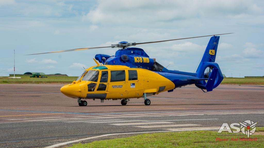 Mc Dermott Aviation/Helilift Eurocopter AS365 N3 Dauphin, N38MD
