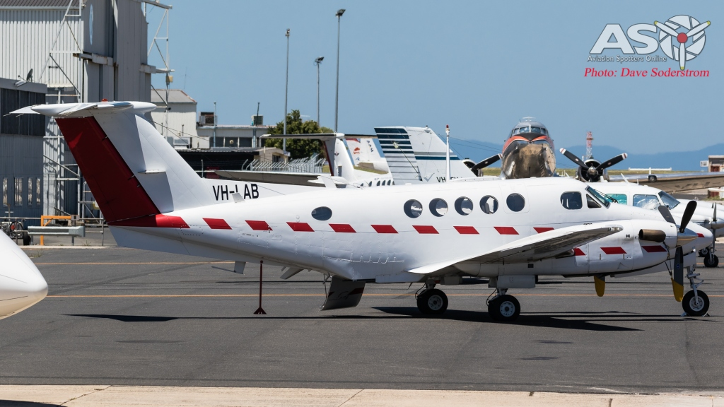 VH-LAB AIR AFFAIRS Beechcraft B200T ASO (1 of 1)