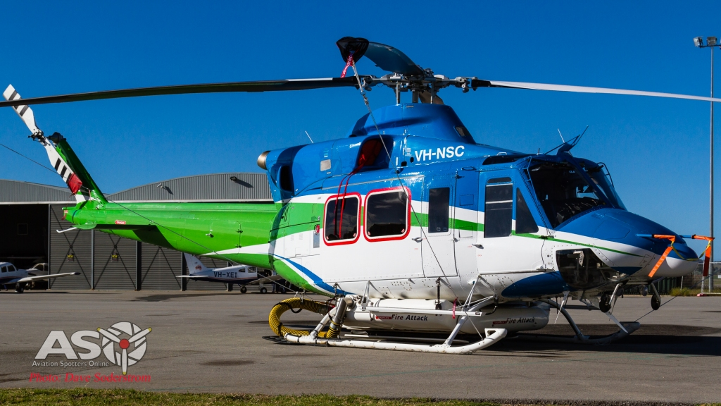 VH-NSC Canberra Helicopters Bell 412 ASO 3 (1 of 1)