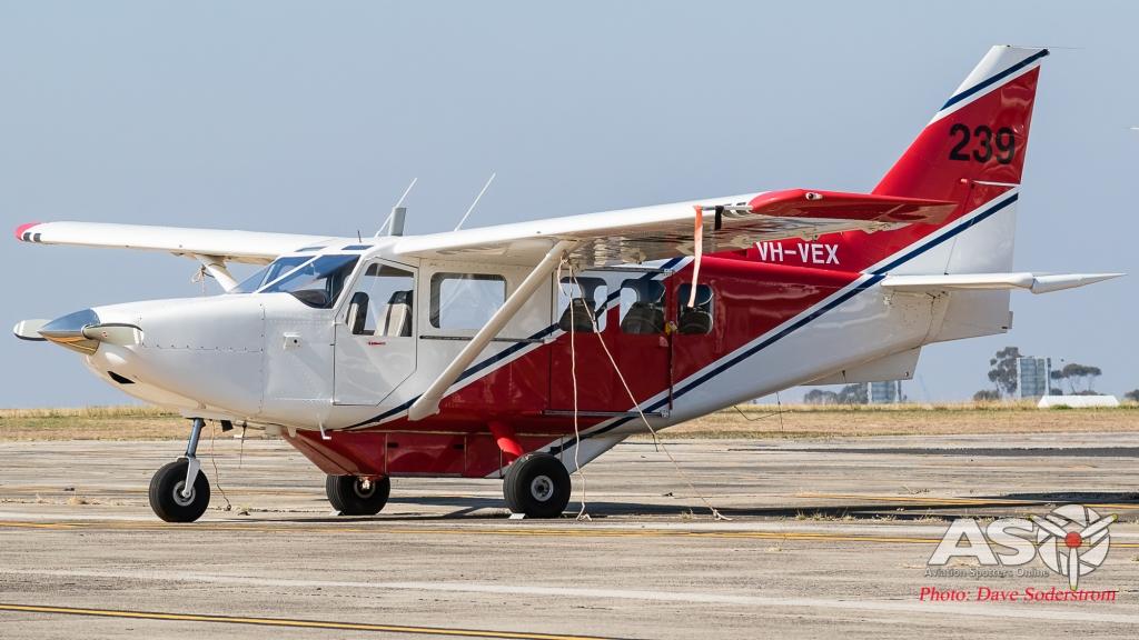 VH-VEX Skycroppers Gippsland GA-8 Airvan (1 of 1)