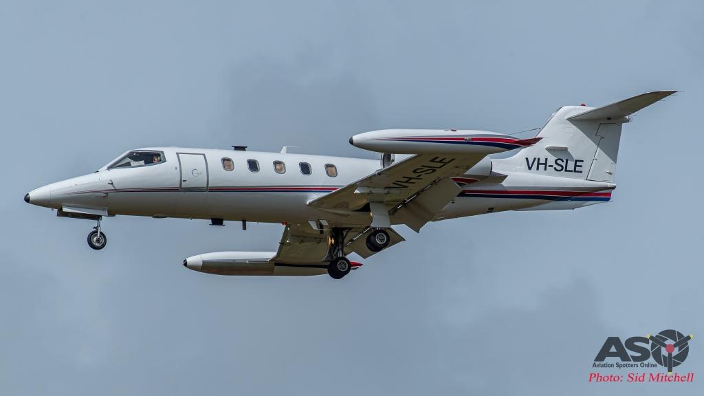 Air Affairs Learjet 35A VH-SLE