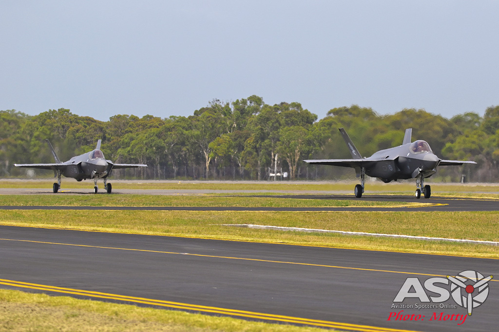 Mottys-First RAAF F-35 Arrivals at Williamtown-02121-ASO