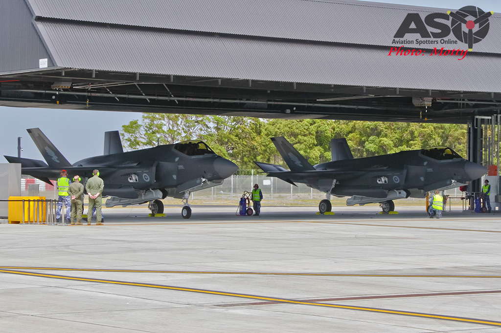 Mottys-First RAAF F-35 Arrivals at Williamtown-02576-ASO