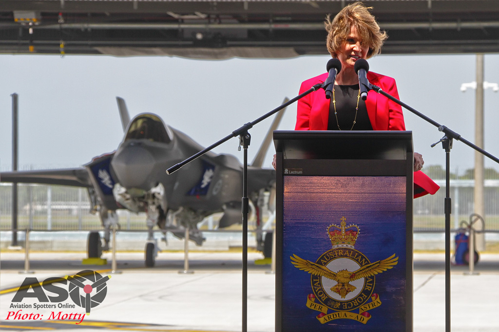 Mottys-First RAAF F-35 Arrivals at Williamtown-02837-ASO