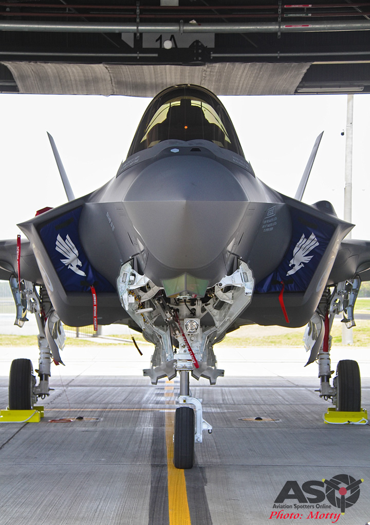 Mottys-First RAAF F-35 Arrivals at Williamtown-02989-ASO