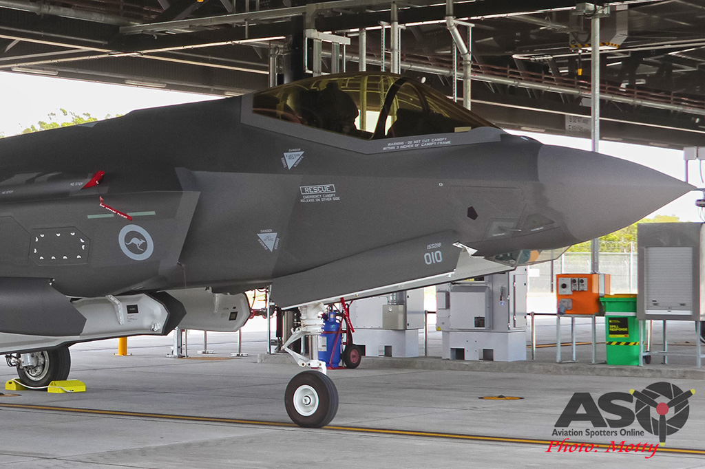 Mottys-First RAAF F-35 Arrivals at Williamtown-03019-ASO
