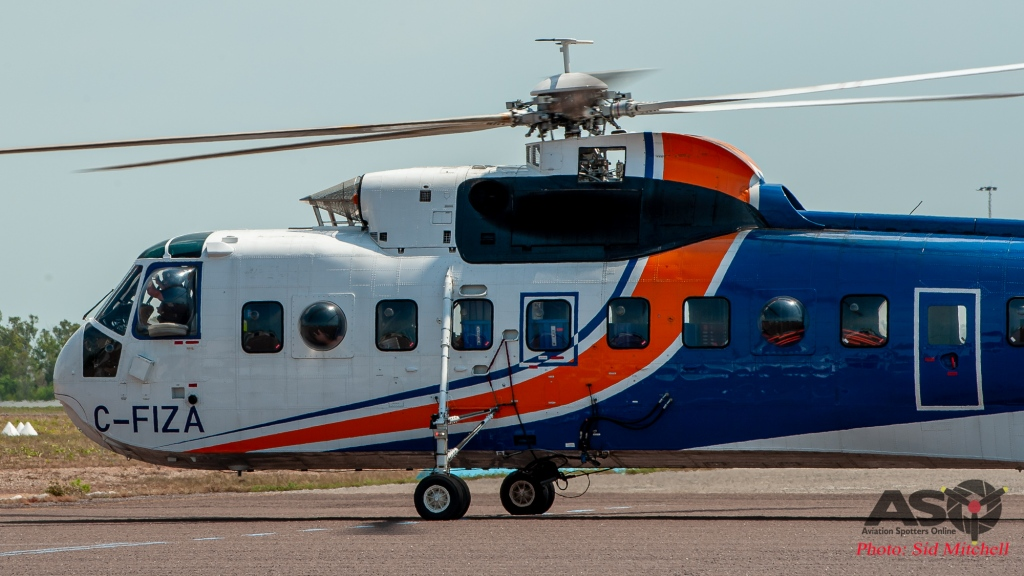 C-FIZA-Helicarrier-S-61 Darwin back from Indonesia