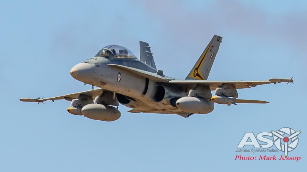 F/A-18B Hornet A21-108 2OCU